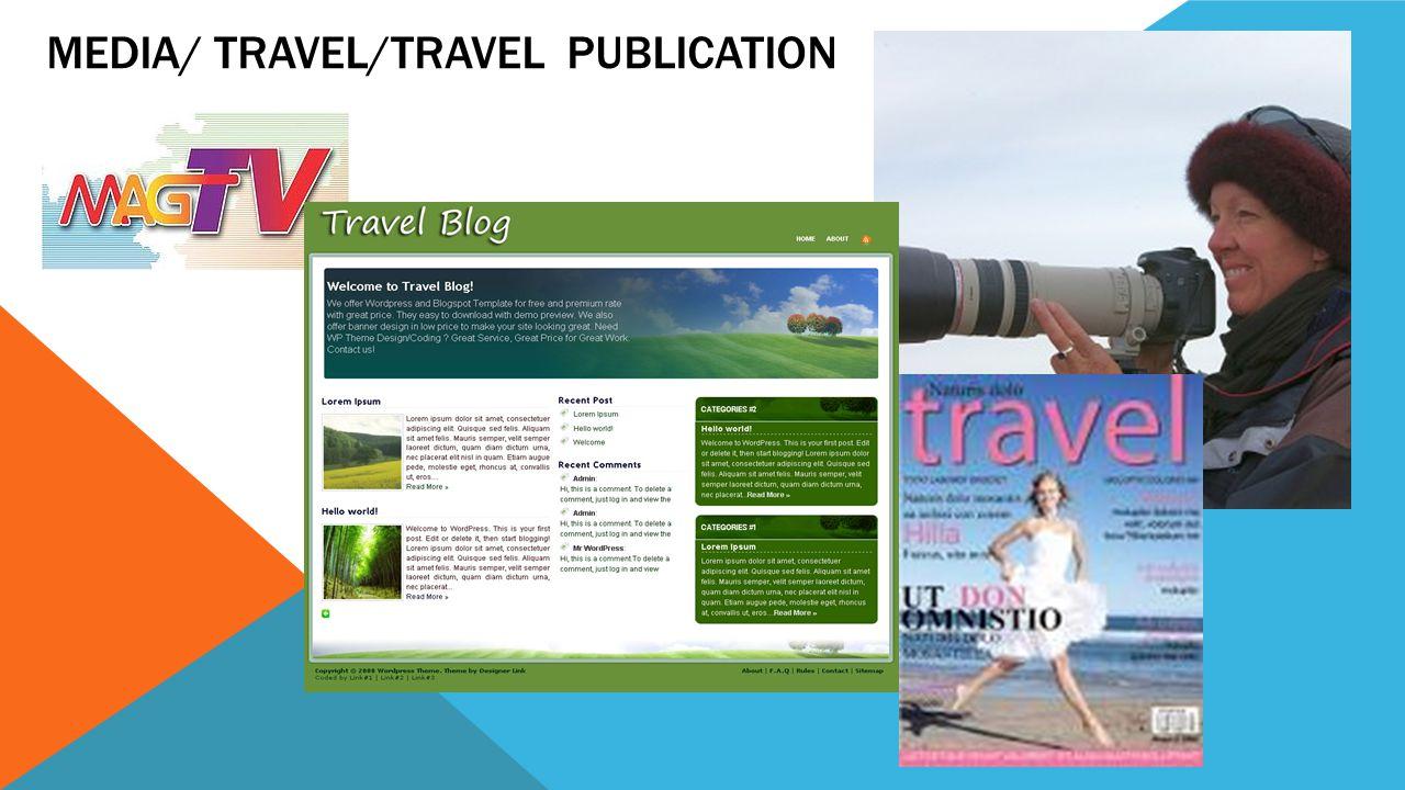 Media/ Travel/Travel Publication