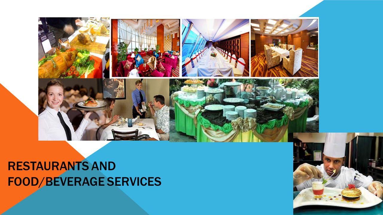 RESTAURANTS AND FOOD/BEVERAGE SERVICES