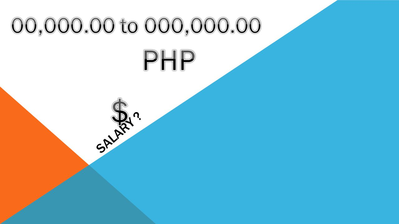 00,000.00 to 000,000.00 PHP Salary $