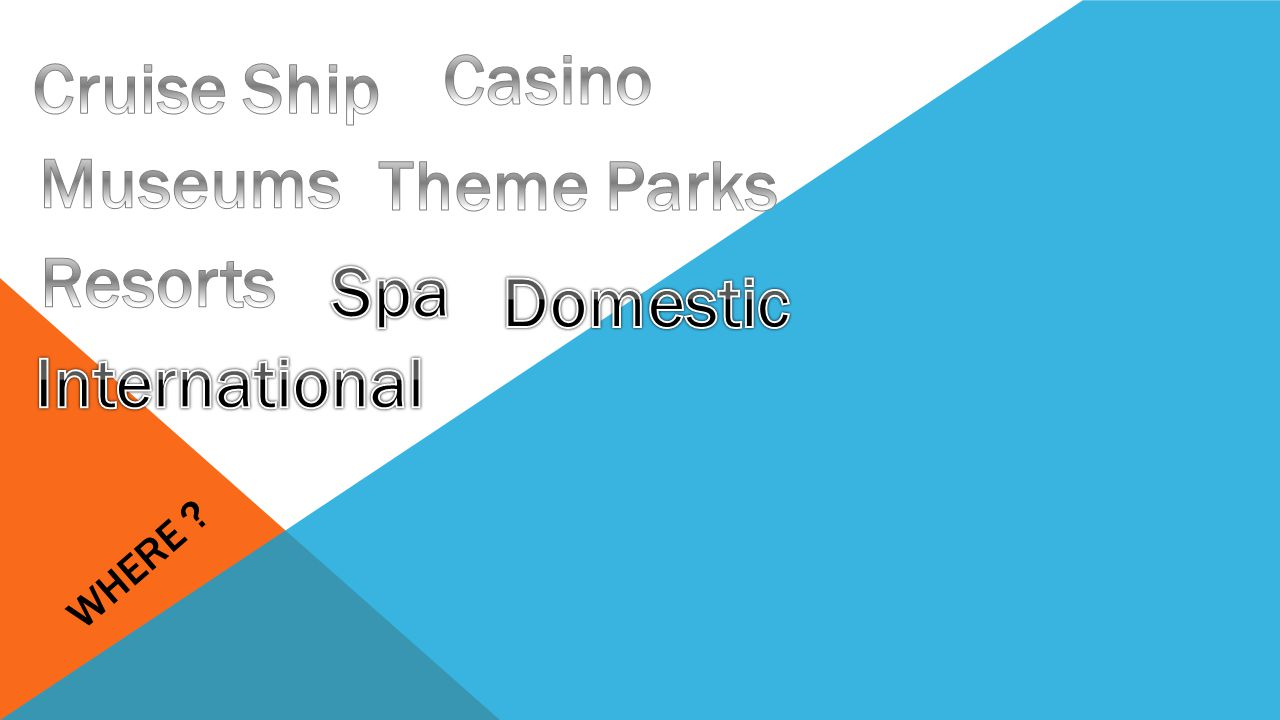 Casino Cruise Ship Museums Theme Parks Resorts Spa Domestic