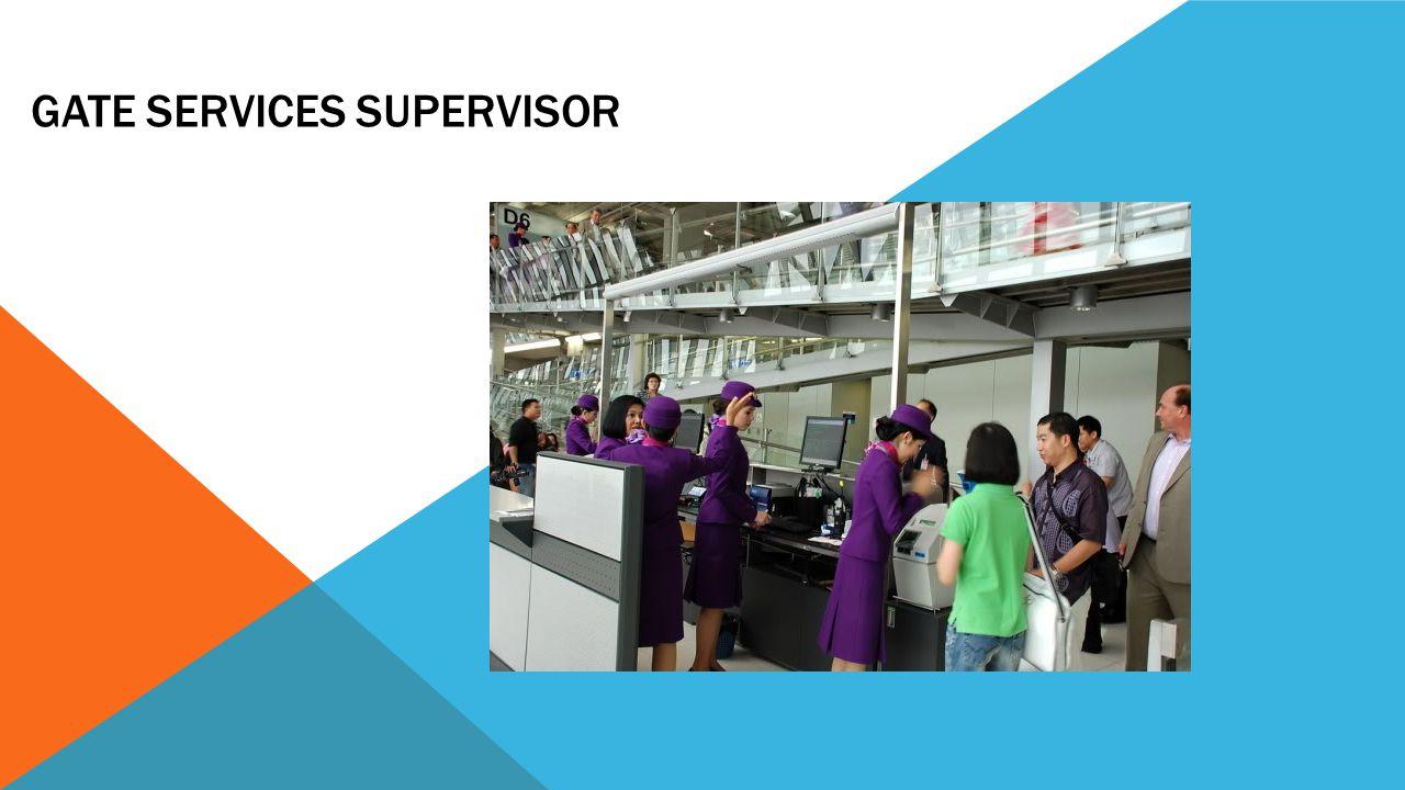 Gate Services Supervisor