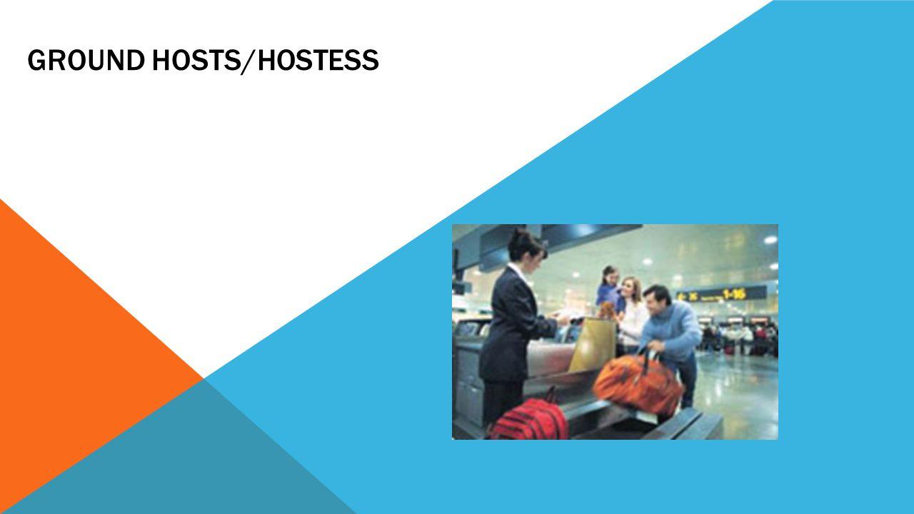 Ground Hosts/Hostess