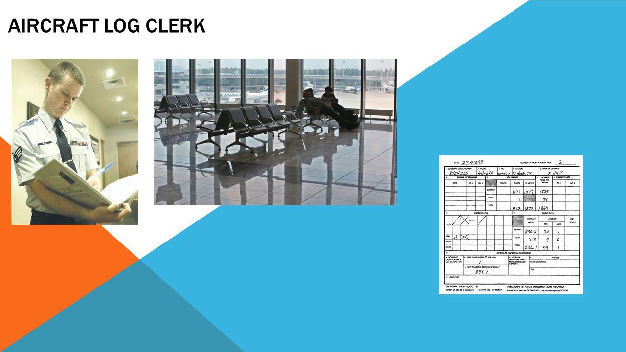 Aircraft Log Clerk