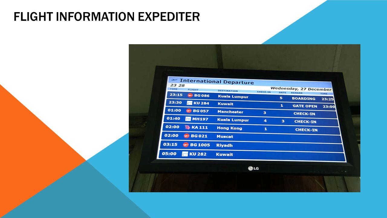 Flight Information Expediter