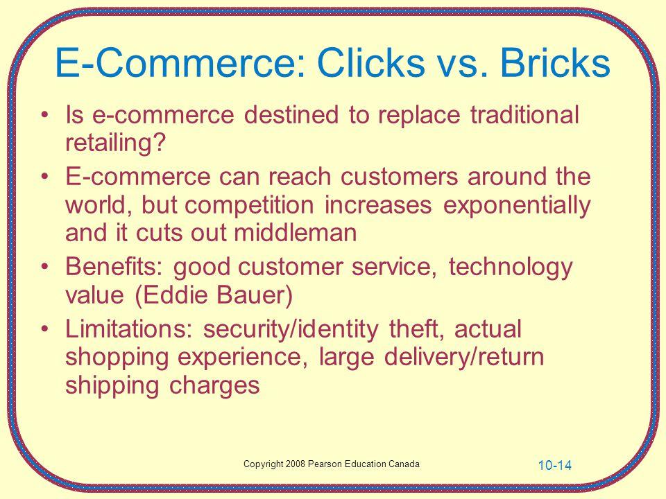 E-Commerce: Clicks vs. Bricks