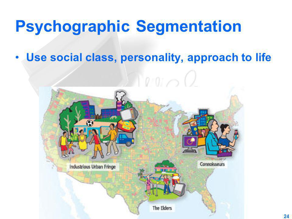 Psychographic Segmentation