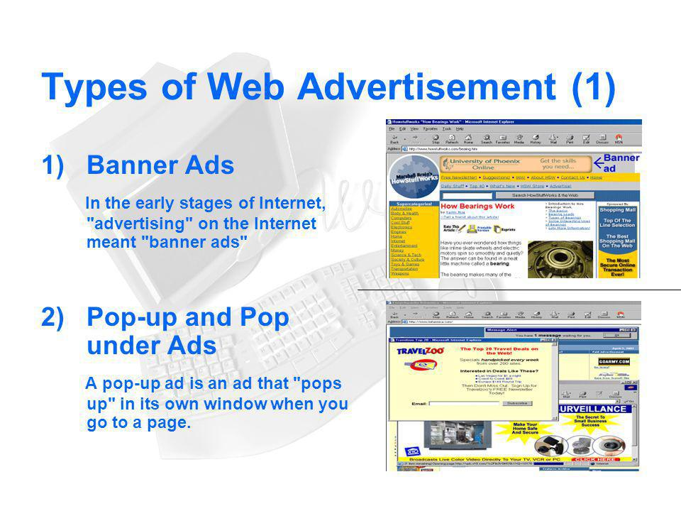Types of Web Advertisement (1)