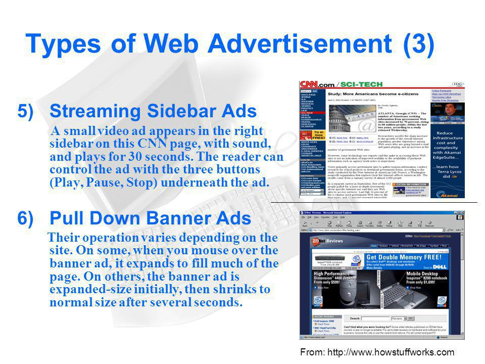 Types of Web Advertisement (3)