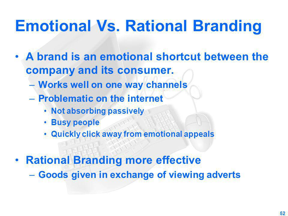 Emotional Vs. Rational Branding