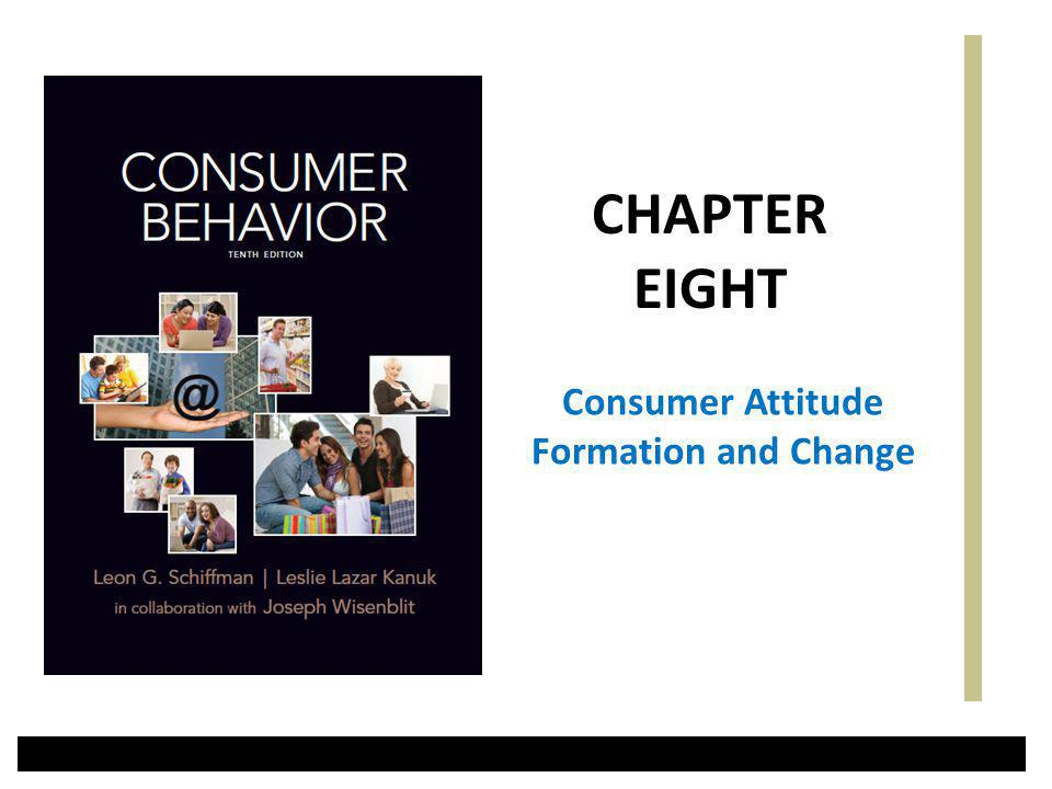 Consumer Attitude Formation and Change