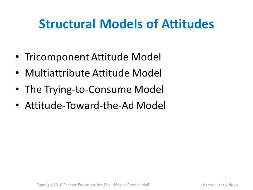 Structural Models of Attitudes