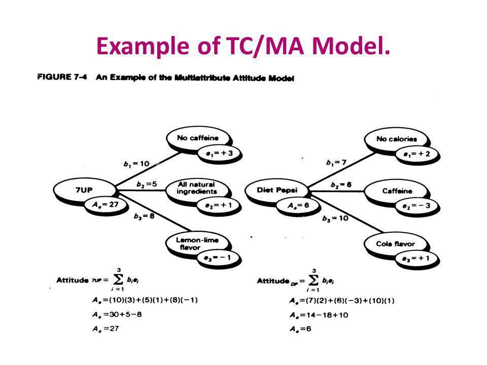 Example of TC/MA Model.