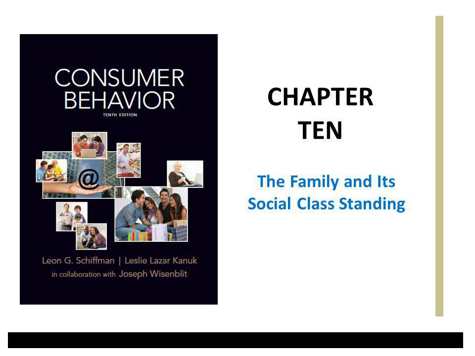 The Family and Its Social Class Standing