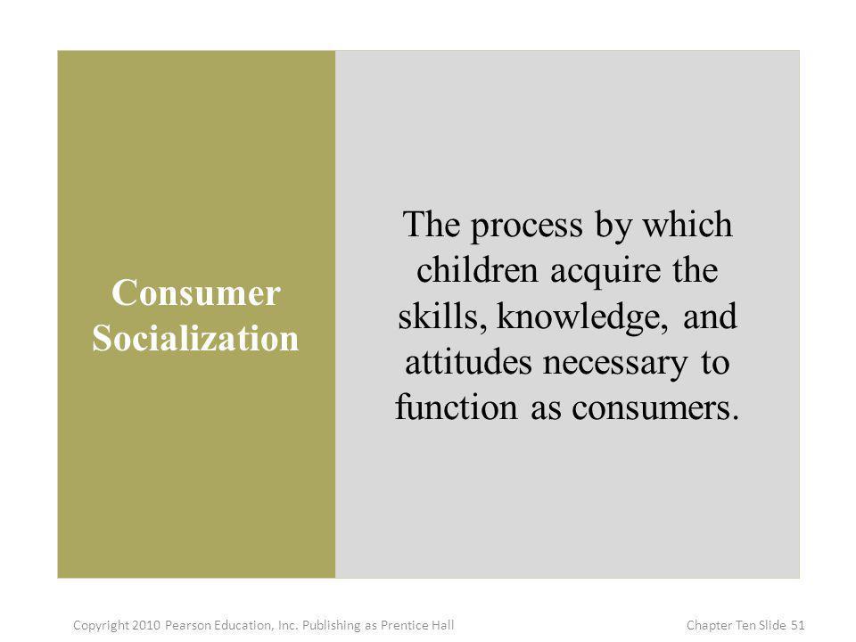 Consumer Socialization
