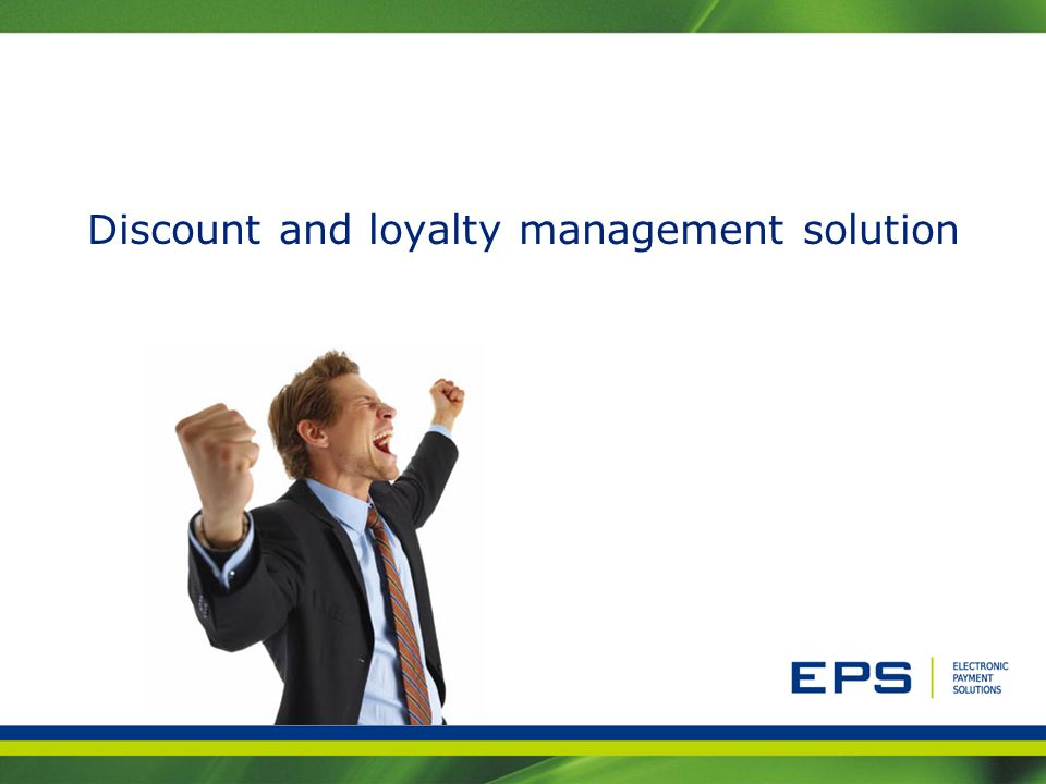 Discount and loyalty management solution