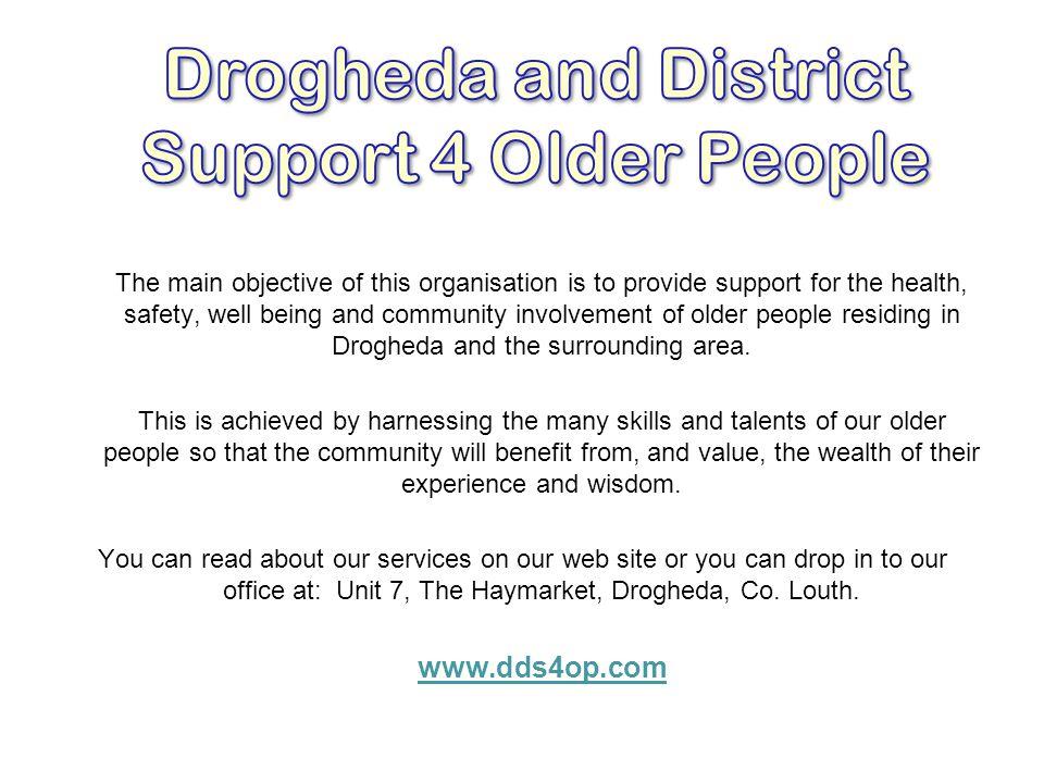 Drogheda and District Support 4 Older People
