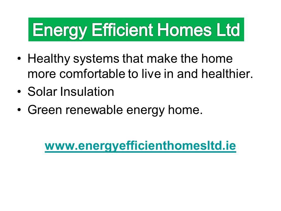 Energy Efficient Homes Ltd