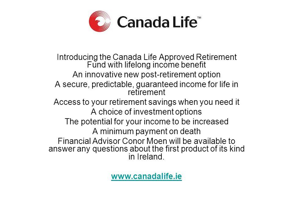 An innovative new post-retirement option