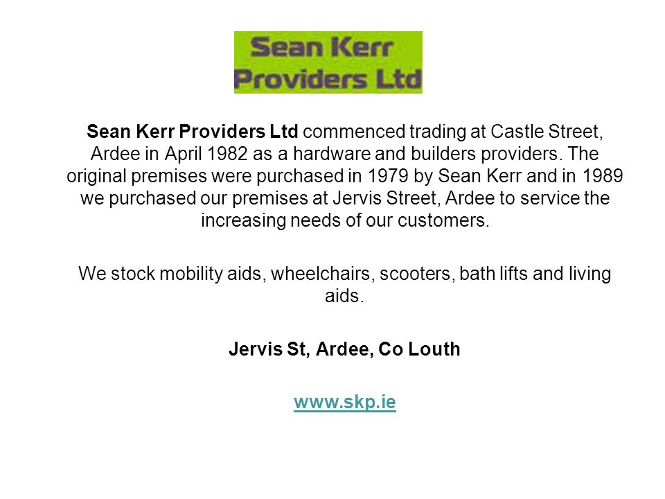 Jervis St, Ardee, Co Louth