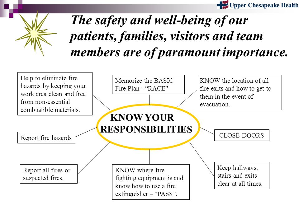 The safety and well-being of our patients, families, visitors and team members are of paramount importance.