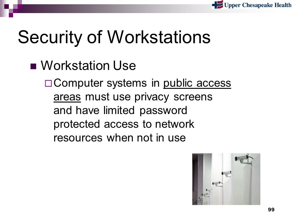 Security of Workstations