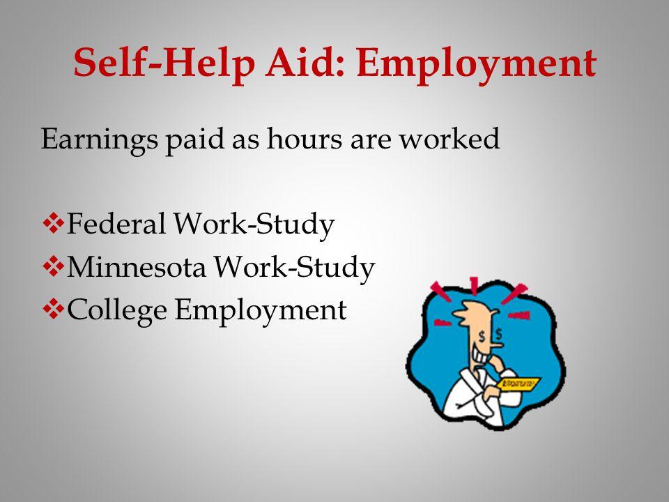 Self-Help Aid: Employment