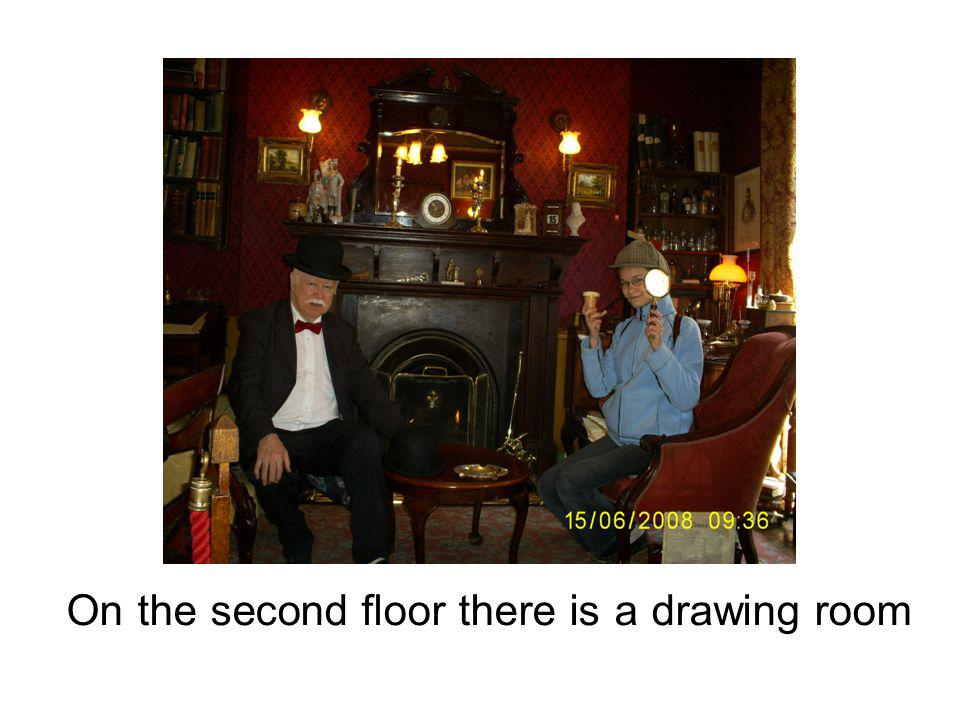 On the second floor there is a drawing room