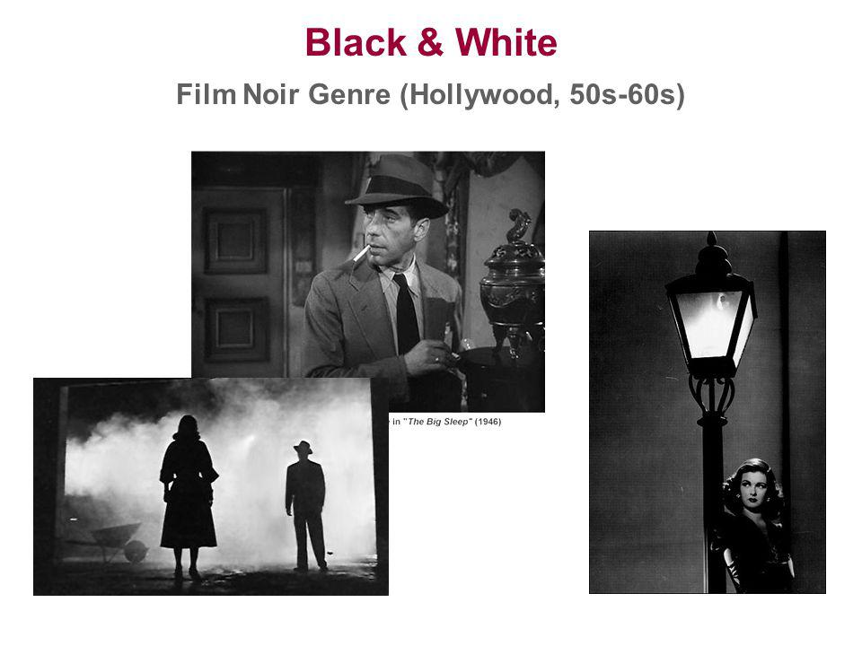 Film Noir Genre (Hollywood, 50s-60s)