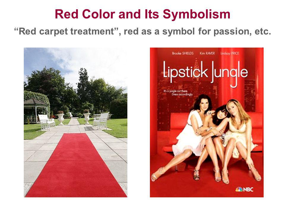 Red Color and Its Symbolism