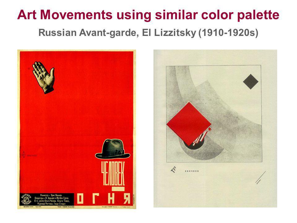 Art Movements using similar color palette