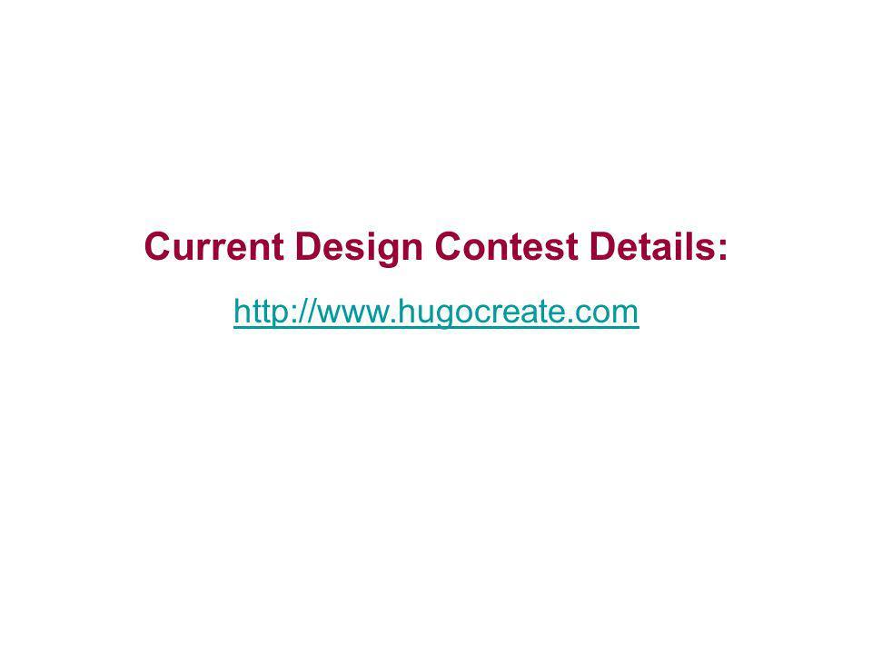 Current Design Contest Details: