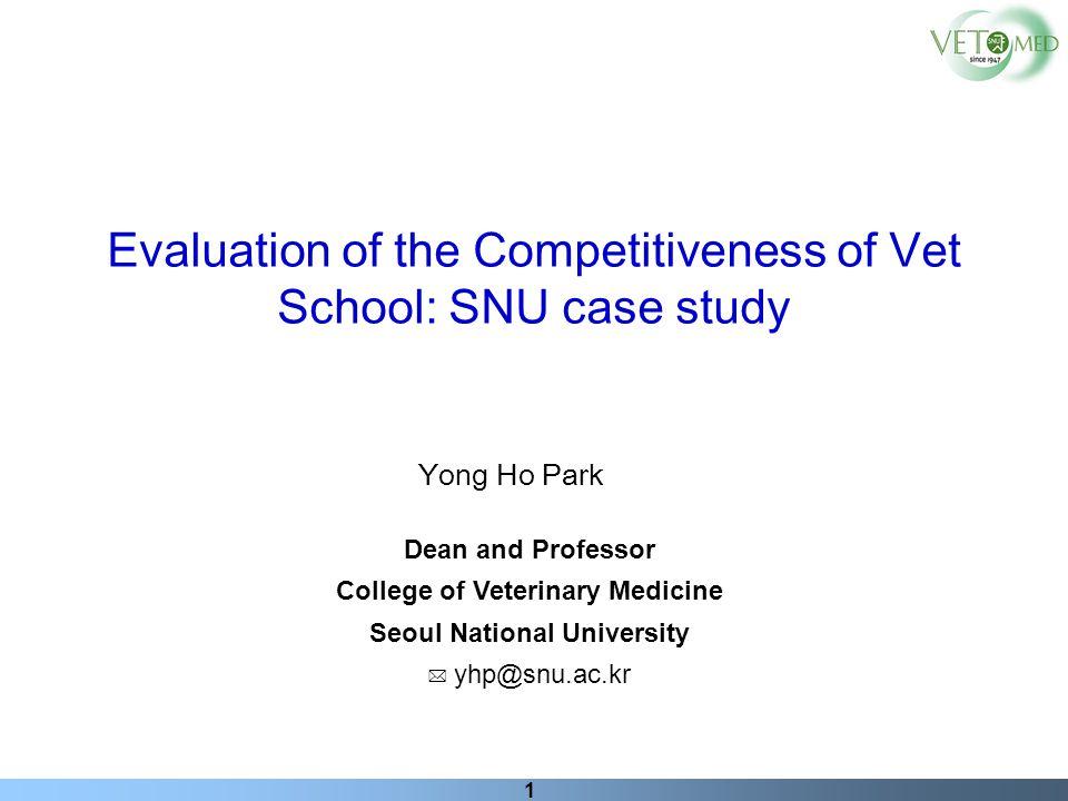 College of Veterinary Medicine Seoul National University