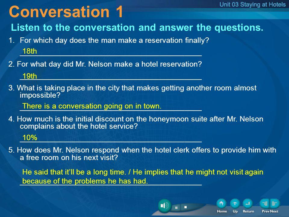 1-Conversation-1 Conversation 1