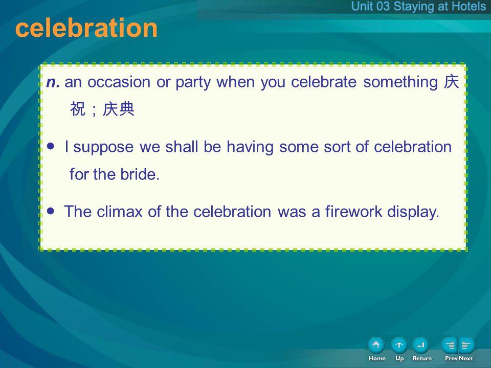 celebration celebration