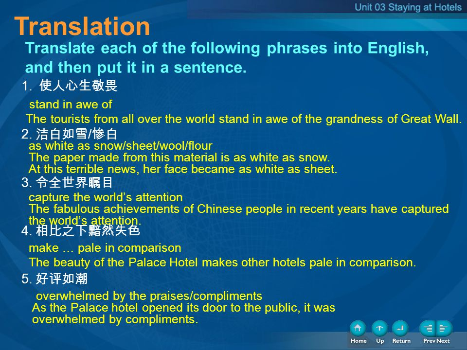 Translation Translation