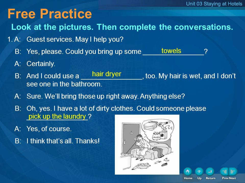 Free Practice Free Practice