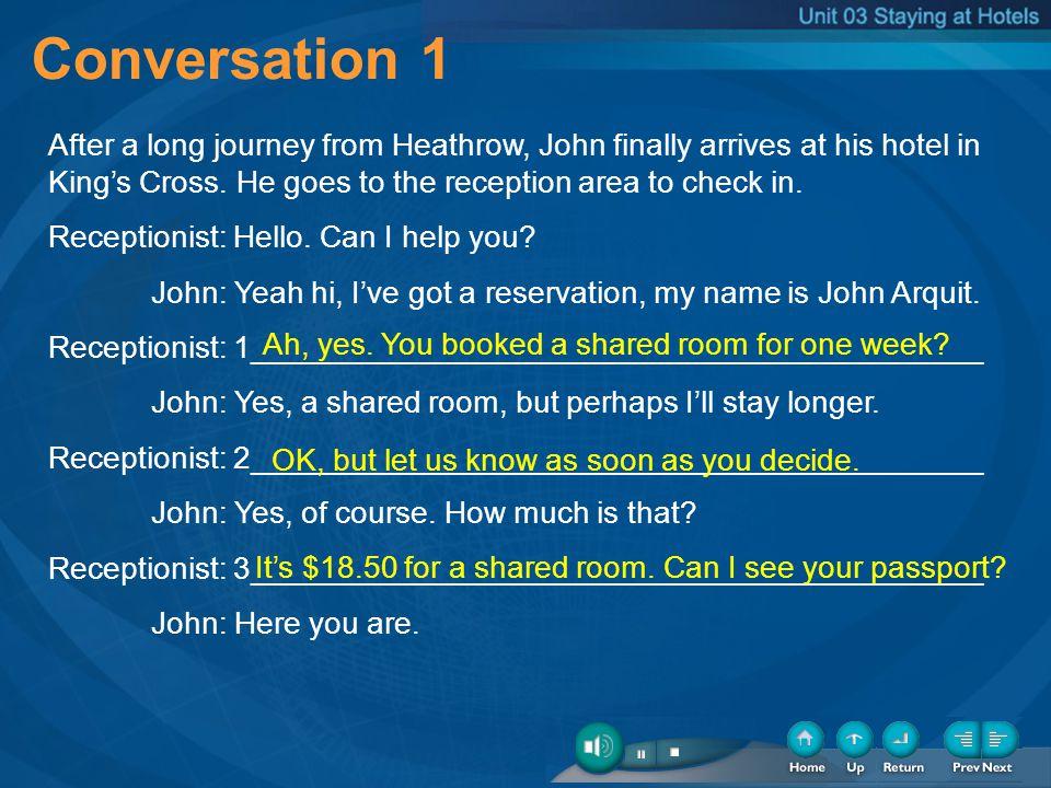 2-Conversation-1 Conversation 1