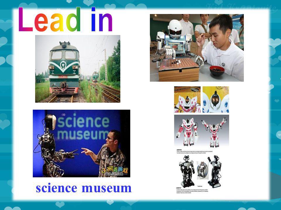 Lead in science museum