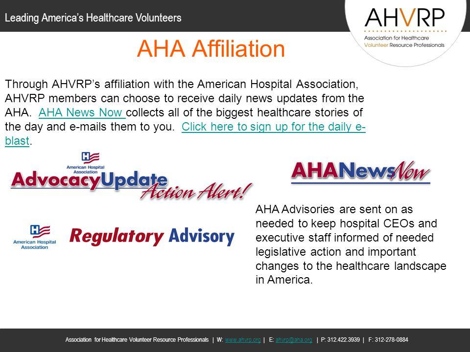 AHA Affiliation