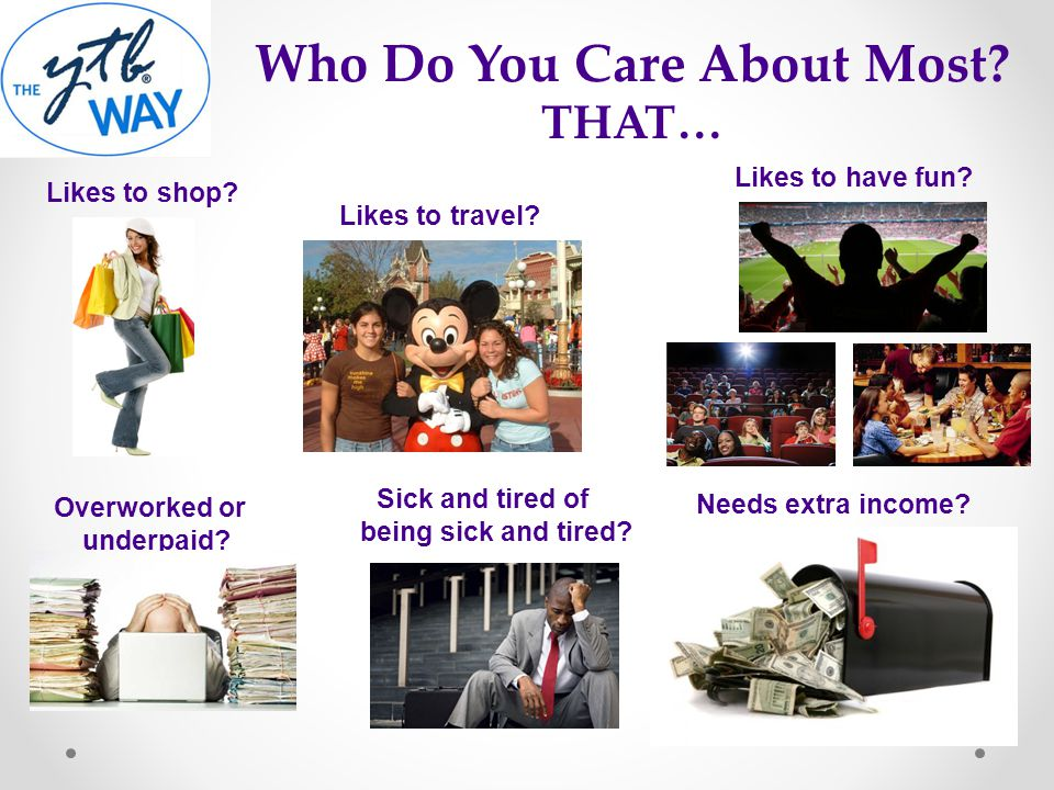 Who Do You Care About Most THAT…