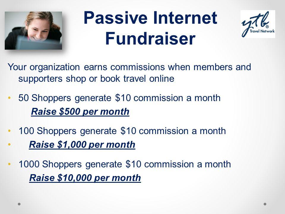 Passive Internet Fundraiser