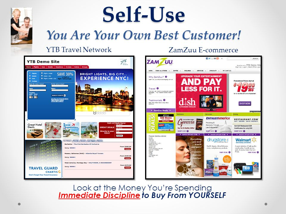 Self-Use You Are Your Own Best Customer!
