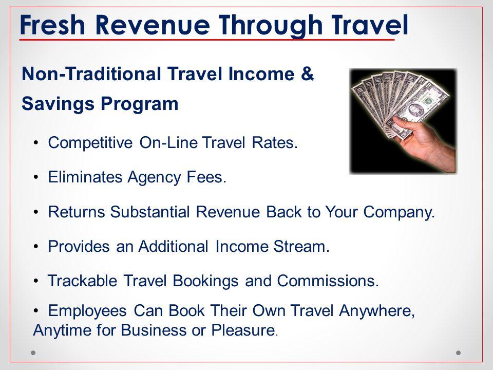 Fresh Revenue Through Travel