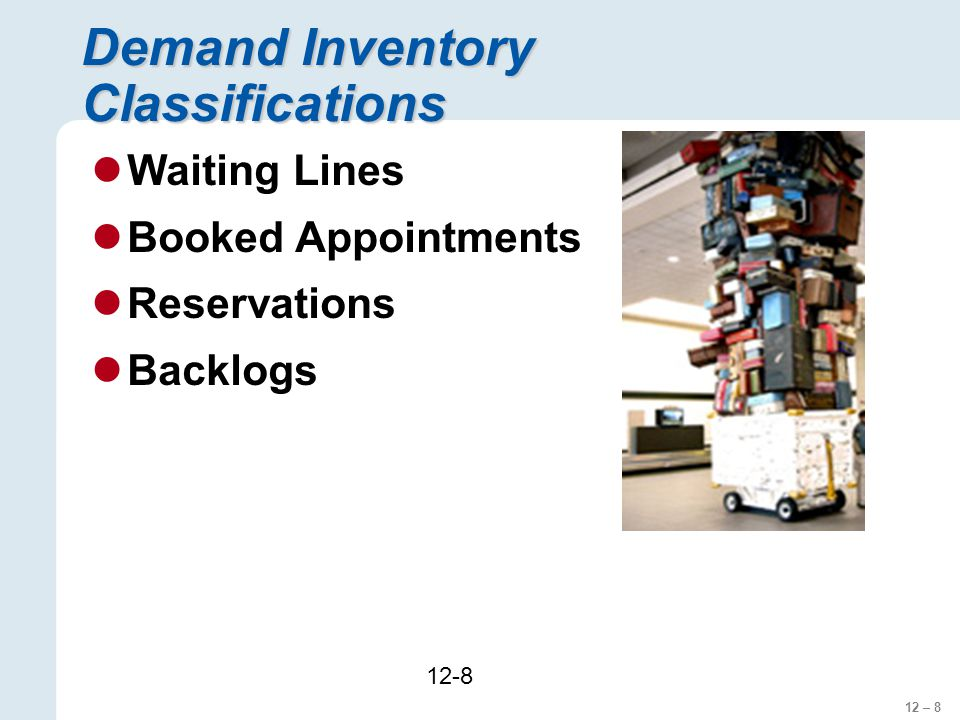Demand Inventory Classifications