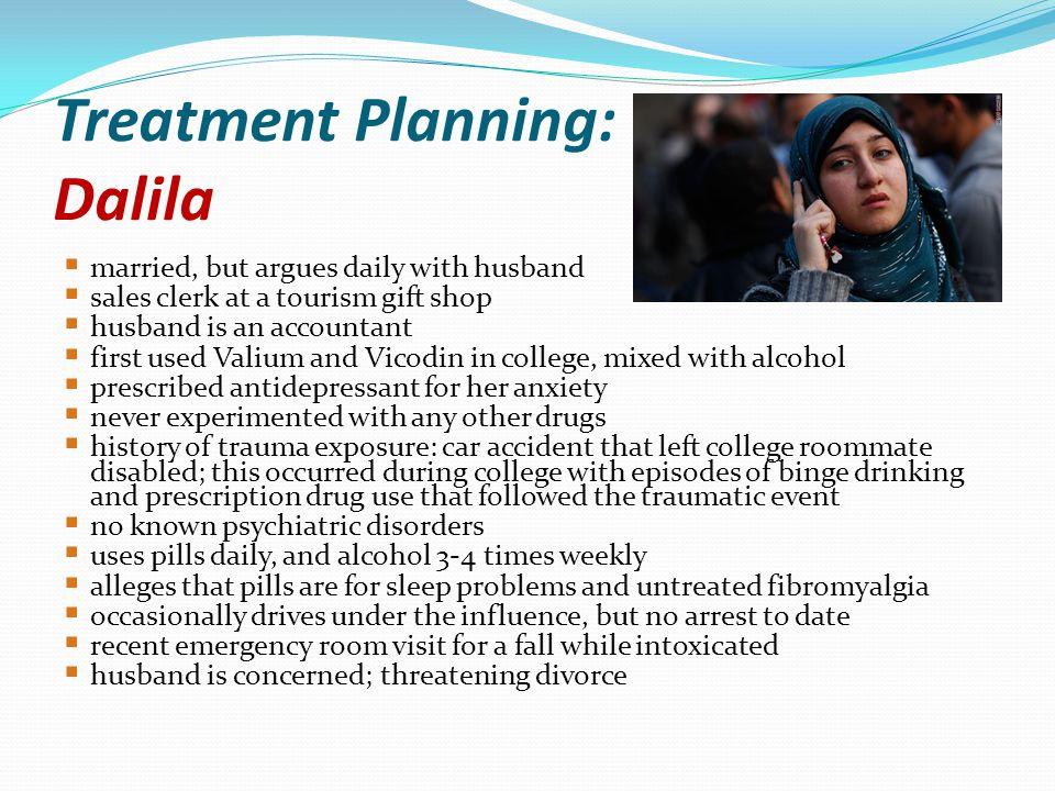 Treatment Planning: Dalila