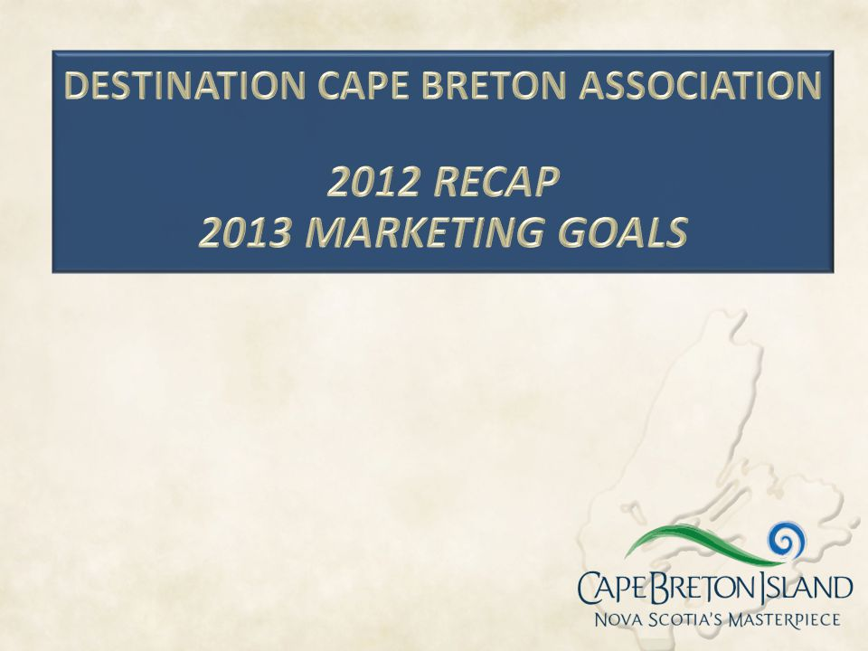 DESTINATION CAPE BRETON ASSOCIATION