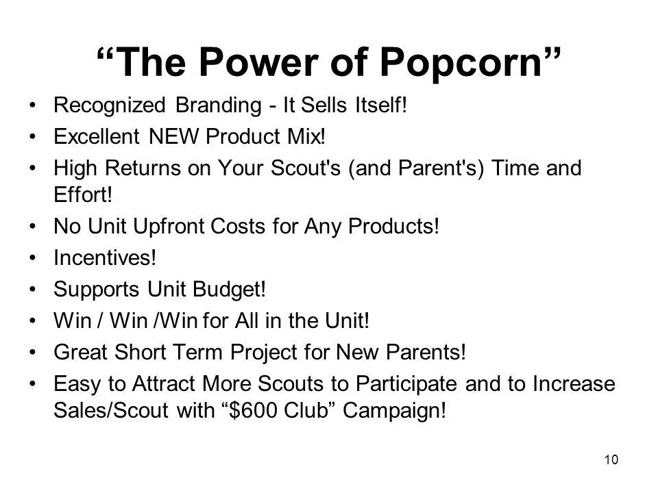 The Power of Popcorn Recognized Branding - It Sells Itself!