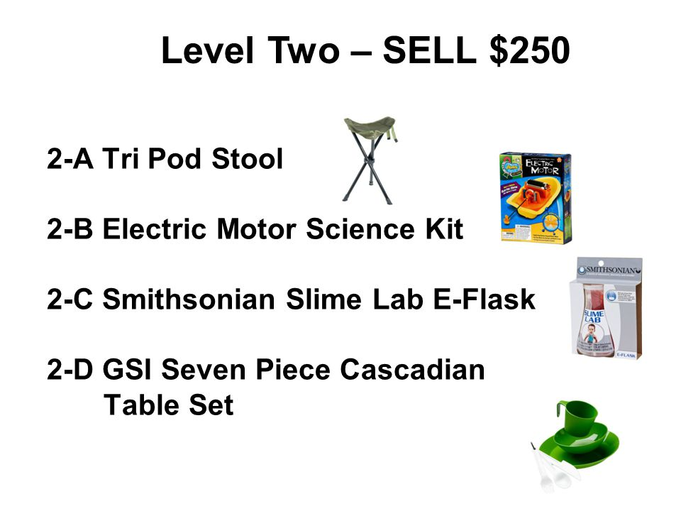 Level Two – SELL $250