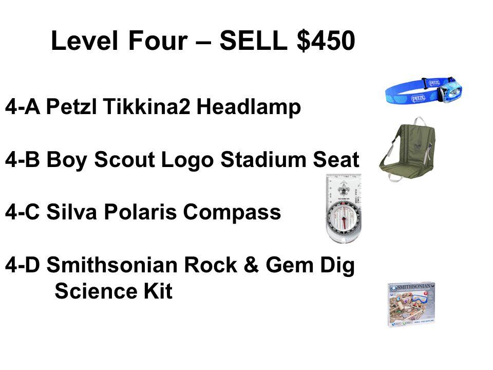 Level Four – SELL $450 4-A Petzl Tikkina2 Headlamp