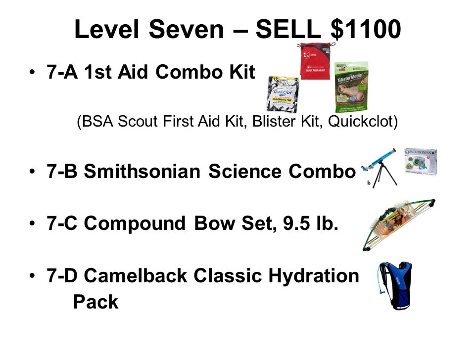 (BSA Scout First Aid Kit, Blister Kit, Quickclot)
